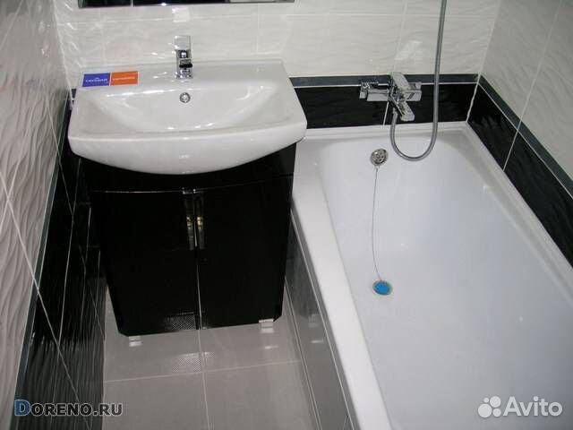 Ремонт ванной под ключ  89832855082 купить 5