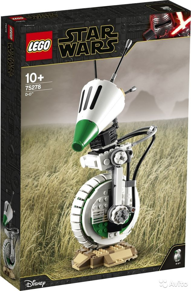Lego Star Wars Дроид D-O, 75278  89990091946 купить 1