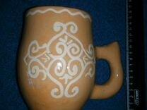 Кружка глиняная