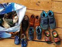 Детская обувь разных размеров отдам