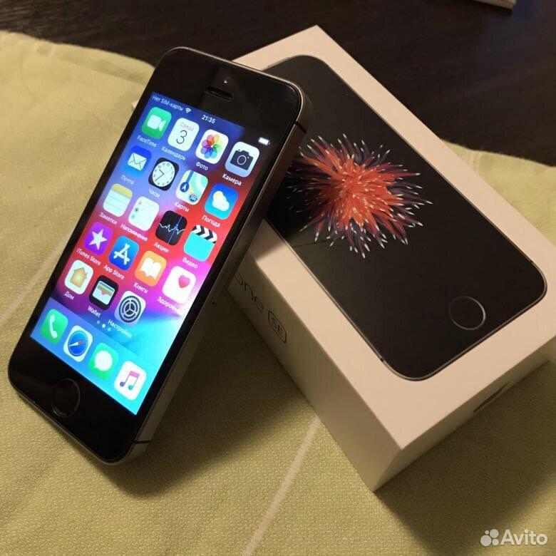 Телефон iPhone SE, продажа, обмен на ноутбук